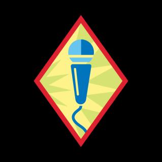Girl Scouts public speaking badge